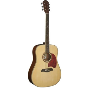 Oscar Schmidt OG2N Dreadnought Acoustic Guitar, Natural