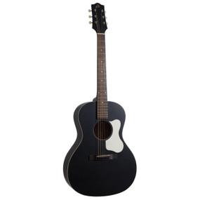 The Loar LO-14-TBK Flat Top 00-Style Acoustic Guitar, Matte Black