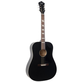 Recording King RDS-7-MBK Dirty 30's Series 7 Dreadnought Acoustic Guitar