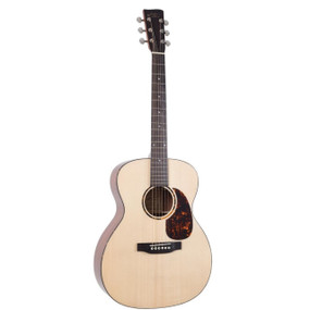 Recording King RO-G6 Solid Top 000-Style Acoustic Guitar, Natural