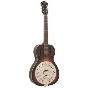 Recording King RPH-R1-TS Dirty 30's 0-Body Acoustic Resonator Guitar, Tobacco Sunburst