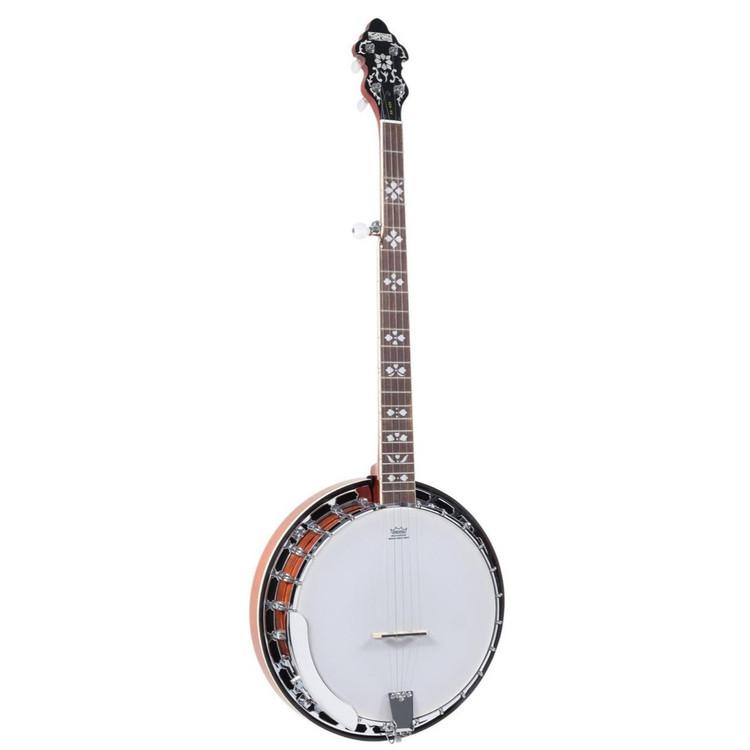 Recording King RK-R20E Songster Acoustic Electric Resonator Banjo
