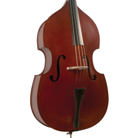 Palatino VB-004 Crack-Resistant 1/8 Size Upright Acoustic Bass Outfit