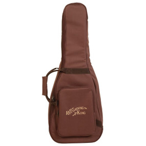 Recording King CG-250K-OOO Deluxe Gig Bag for 000-Body Guitar, Brown