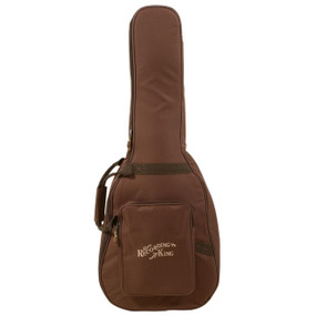 Recording King CG-250K-D Deluxe Gig Bag for Dreadnought Acoustic Guitar, Brown