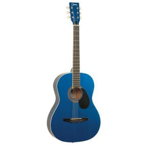 Johnson JG-100-SBL Student Dreadnought Acoustic Guitar, Sparkle Blue