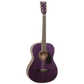 Johnson JG-100-SPL Student Dreadnought Acoustic Guitar, Sparkle Purple