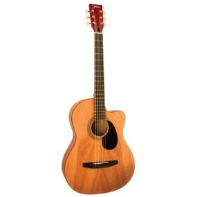 Johnson JG-100-CNA Student Cutaway Acoustic Guitar, Natural