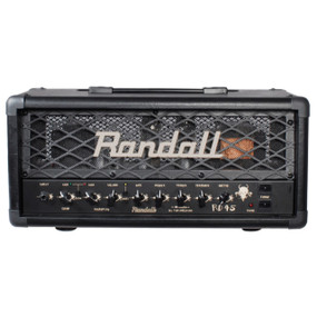 Randall RD45H Diavlo Series 45 Watt Tube Guitar Amplifier Head, Black
