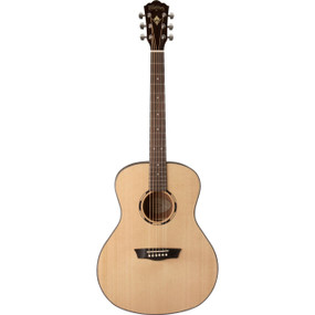 Washburn WLO10S Woodline Orchestra Body Acoustic Guitar, Natural