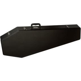Coffin G185R Original Coffin Shaped Electric Guitar Case, Red Velvet Interior