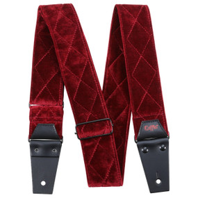 Coffin CFS-CNTRD The Count Red Velvet Guitar Strap