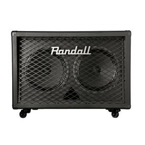 """Randall RD212-V30 Diavlo Series 2x12"""" Angled Guitar Speaker Cabinet"""