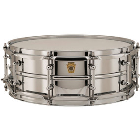 "Ludwig LB400BT Supraphonic Chrome-Over-Brass 5""x 14"" Snare Drum, Tube Lugs"