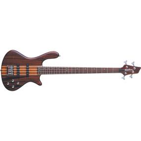 Washburn T24NMK Taurus 4-String Electric Bass Guitar, Natural Matte