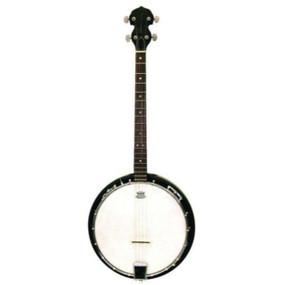 Trinity River TRTB1 4-String Tenor Banjo with Gig Bag