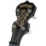 Deering Goodtime Blackgrass 5-String Resonator Banjo, Black Satin Finish