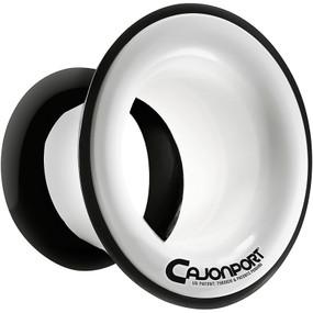 KickPort CP1-WH CajonPort Sound Enhancement Cajon Port Insert, White (CP1WH)