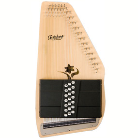 Oscar Schmidt Appalachian 21-Chord Acoustic Electric Autoharp, Natural