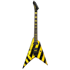 Washburn Parallaxe V260FR Michael Sweet Electric Guitar, Black and Yellow