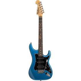Washburn Sonamaster S2H Solid Body Electric Guitar, Metallic Blue