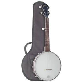 Savannah SB-060 5-String Acoustic Travel Banjo with Gig Bag