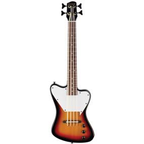 Savannah STB-700F-VS Mini Fretless Electric Bass Guitar, Vintage Sunburst