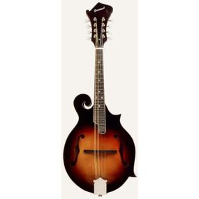 Savannah SF-105-SN F-Style Acoustic Mandolin with Featherweight Case, Sunburst