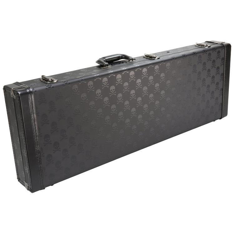 Coffin Case CF-SKULL900R Hardshell Electric Guitar Case, Red Velvet Interior