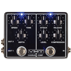 VHT AV-DC1 Dyna-Chorus Dual Effects Guitar Pedal, Compressor and Chorus