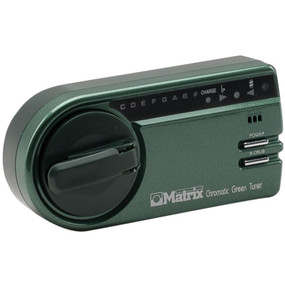 Matrix GSR-1000 User-Powered Green Chromatic Instrument Tuner