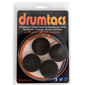Drumtacs DT-DT Sound Control Dampener Pads, 4-Pack