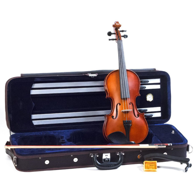 Palatino VN-650 Hand Carved Genoa 4/4 Full Size Violin Outfit