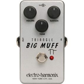EHX Electro-Harmonix TRIBM Triangle Big Muff Pi Distortion/Sustainer Effects Pedal