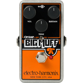 Electro-Harmonix OPAMPBM Op-Amp Big Muff Pi Distortion/Sustainer Effects Pedal