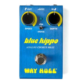 Dunlop Way Huge Smalls Blue Hippo Analog Chorus Effects Pedal, WM61