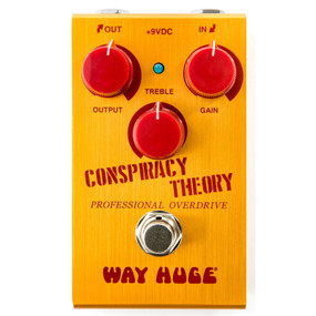 Dunlop Way Huge Smalls Conspiracy Theory Professional Overdrive Effects Pedal, WM20