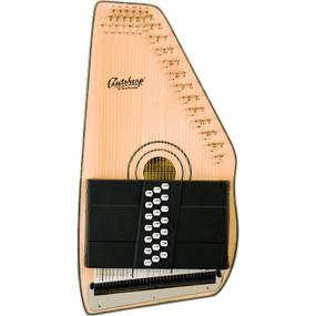 Oscar Schmidt OS120CN 21-Chord Adirondack Autoharp, Natural