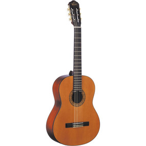 Oscar Schmidt OC9LH Left-Handed Nylon String Classical Acoustic Guitar, Natural