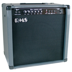 "RMS B80 Bass Guitar Combo Amplifier, 80-Watt with 12"" Speaker"