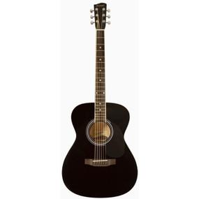 Savannah SGO-12-BK 000-Style Acoustic Guitar, Black