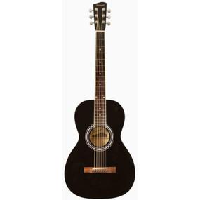 Savannah SGP-12-BK 0-Style Acoustic Guitar, Black