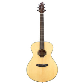 Breedlove Discovery Concert Acoustic Guitar with Gig Bag, Natural