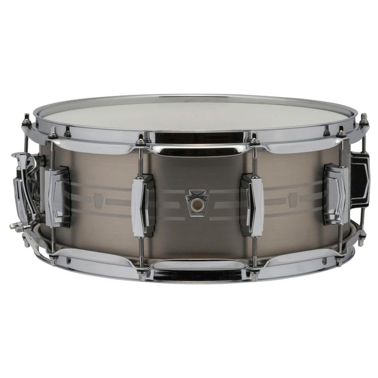 "Ludwig LSTLS5514 Heirloom Stainless Steel Snare Drum, 5.5""x 14"""