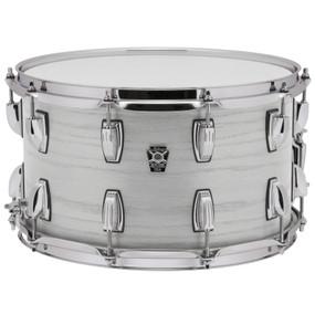 """Ludwig LKS764XXSW Keystone X Series 6.5""""x 14"""" Snare Drum, Snow White"""