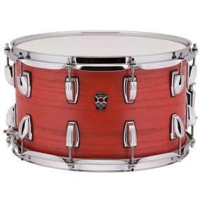 "Ludwig LKS784XXSF Keystone X Series 8""x 14"" Snare Drum, Sienna Fire"