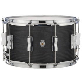 "Ludwig LKS784XXBH Keystone X Series 8""x 14"" Snare Drum, Night Oak"