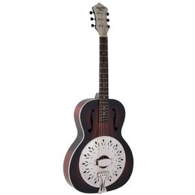 Recording King RR-41E-VS Rattlesnake Small Body Acoustic Electric Resonator Guitar