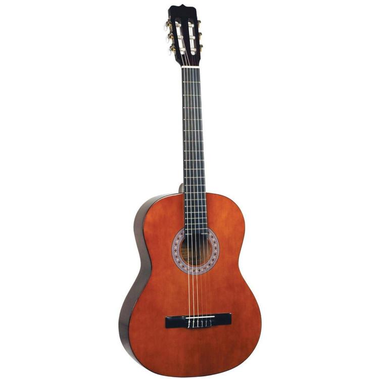 Lucida LG-510-1/4 Student Classical Nylon String Acoustic Guitar, Natural