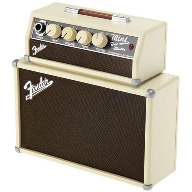 "Fender Mini Tone Master 1-Watt Portable Guitar Amplifier, 2x2"""